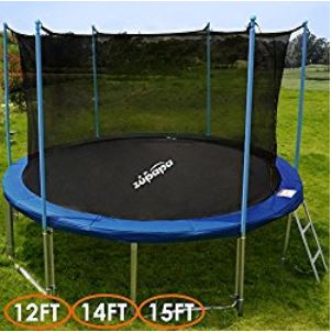 best trampolines for safety
