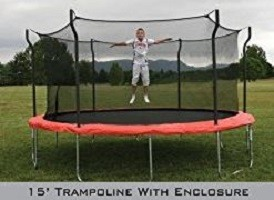 Propel 15' Trampoline with enclosure