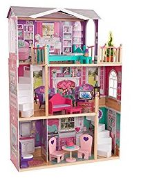 kidkraft elegant doll house for 18 inch dolls