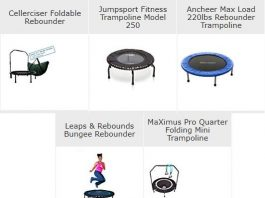 best mini trampolines reviews
